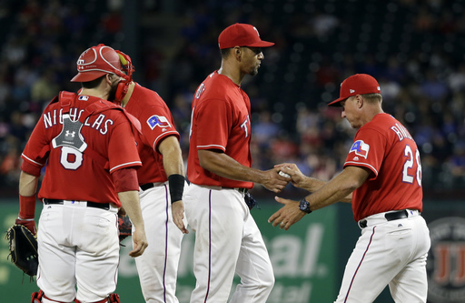 Mazara homers, drives in 5 as Rangers top White Sox 9-8 (Aug 17, 2017)