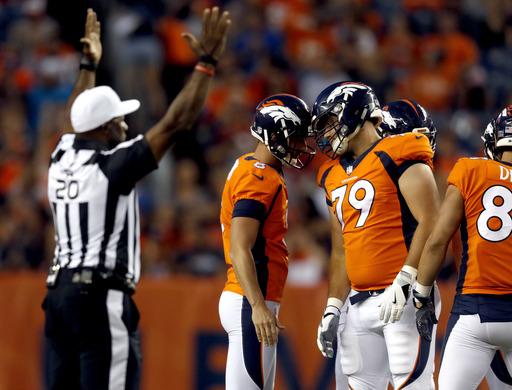 Broncos extend kicker Brandon McManus' contract through 2020