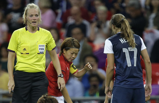 Steinhaus making history as Bundesliga's 1st female referee