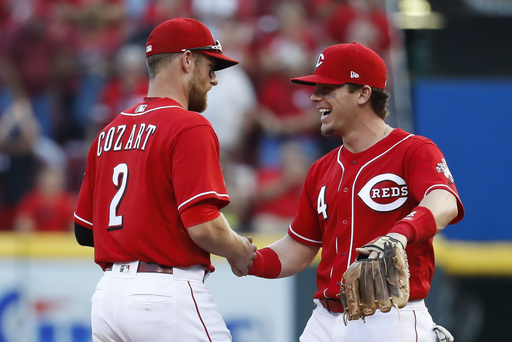 Romano pitches Reds to 2-1 victory over Nova, Pirates (Sep 16, 2017)