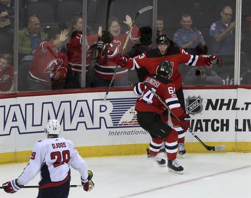 Hischier scores as Devils beat Capitals in preseason opener