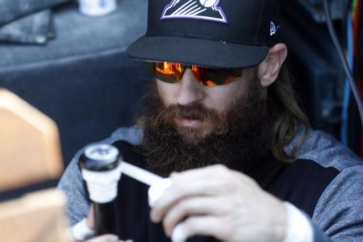 Rockies' Blackmon sets RBI mark for leadoff man in a season