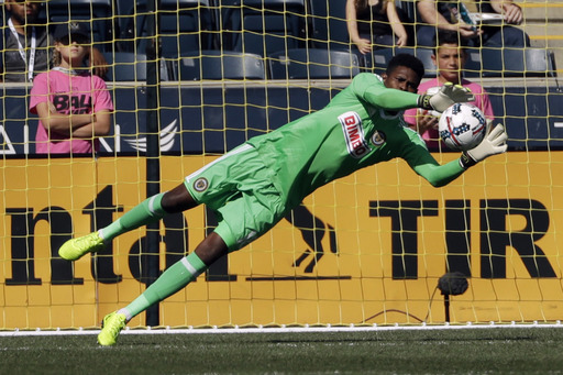 Blake gets 9th shutout, Union beat Sounders 2-0 (Oct 01, 2017)