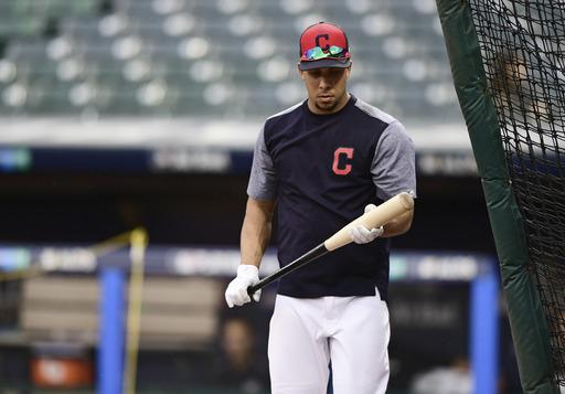 Brantley on Indians' ALDS roster after latest comeback