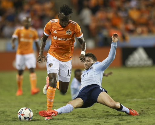 Elis scores in extra time, Dynamo top Sporting KC 1-0 (Oct 26, 2017)