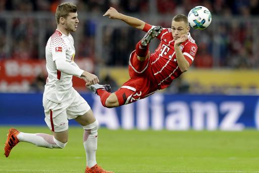 Gregoritsch scores 2 as Augsburg beats Werder Bremen 3-0