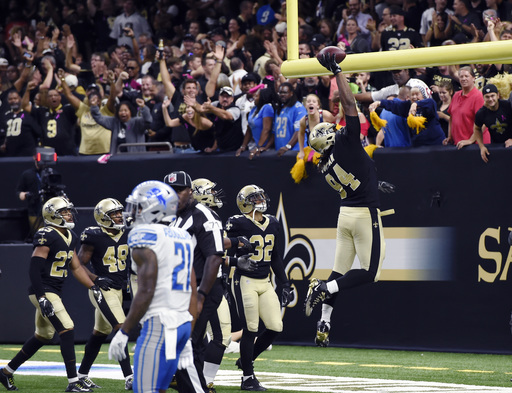 Saints credit Jordan for bolstering defense in myriad ways