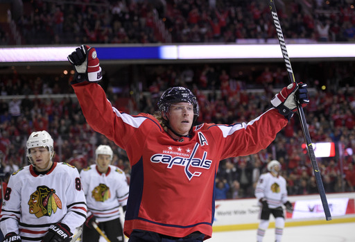 Tom Wilson, Alex Ovechkin help Capitals rout Blackhawks 6-2