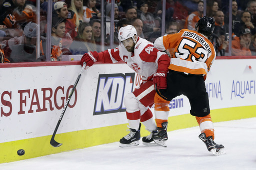 Sean Couturier scores 16th goal, Flyers top Red Wings 4-3 (Dec 20, 2017)
