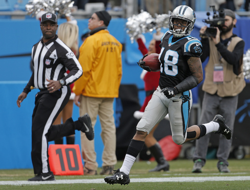 Panthers' Damiere Byrd out rest of season with leg injury