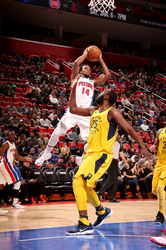 Harris scores 30 as Pistons crush Pacers (Dec 26, 2017)