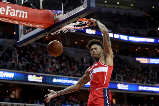 Porter scores 26, Wizards hand Rockets 5th straight loss (Dec 29, 2017)