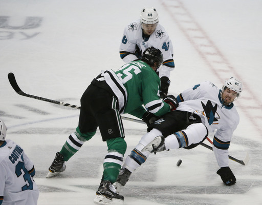 Pitlick scores twice, Bishop and Stars beat Sharks 6-0 (Dec 31, 2017)