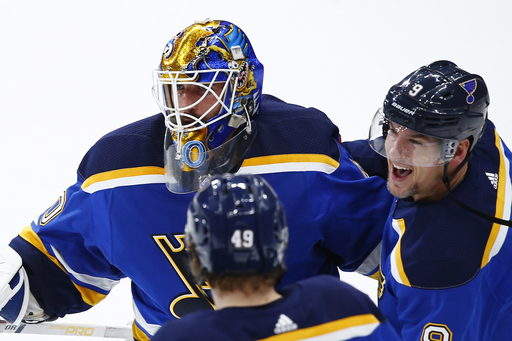 Hutton helps Blues beat Devils for 9th straight time (Jan 02, 2018)