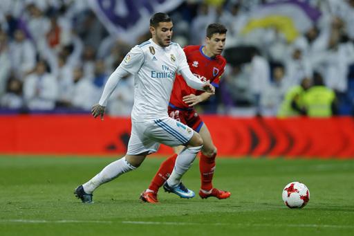 Madrid advances in Copa despite 2-2 draw against Numancia