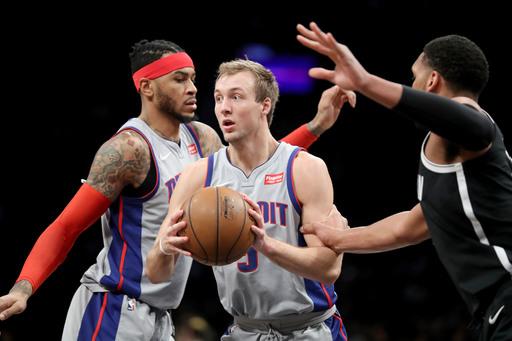 Drummond's double-double leads Pistons past Nets 114-80 (Jan 10, 2018)