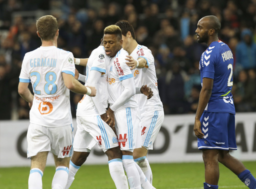 Njie and Payet come off the bench to score as Marseille wins