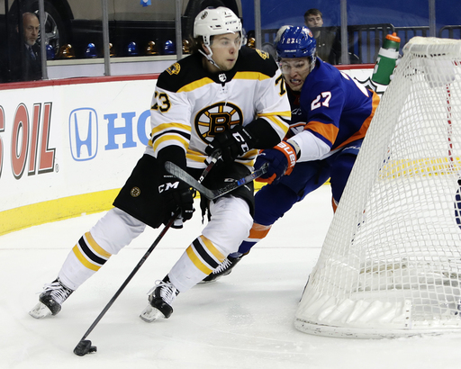 Bruins rookie McAvoy has abnormal heart rhythm; out 2 weeks