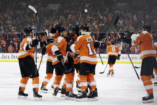 Couturier's goal lifts Flyers over Leafs on Lindros' night (Jan 18, 2018)