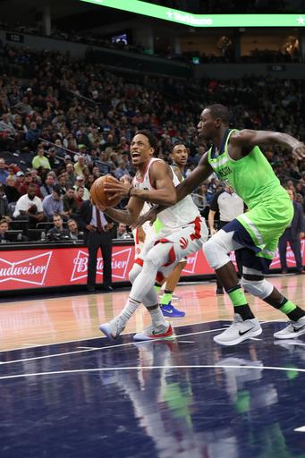 Wiggins scores 29 as Wolves rally past Raptors 115-109 (Jan 20, 2018)