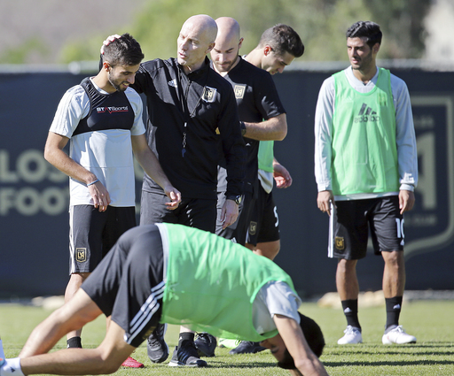 Building a team: LAFC kicks off with its first practice