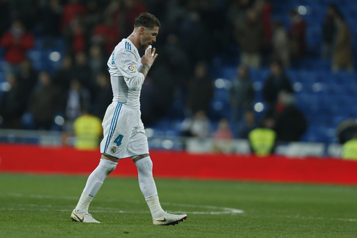 Injured Ramos & Isco to miss Real Madrid's match at Valencia