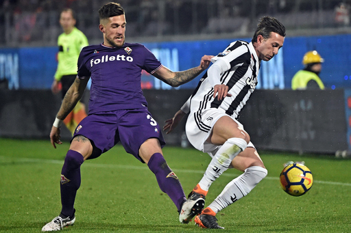 VAR controversy in Juve's 2-0 win at Fiorentina