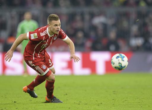 Bayern Munich extends Joshua Kimmich contract to 2023
