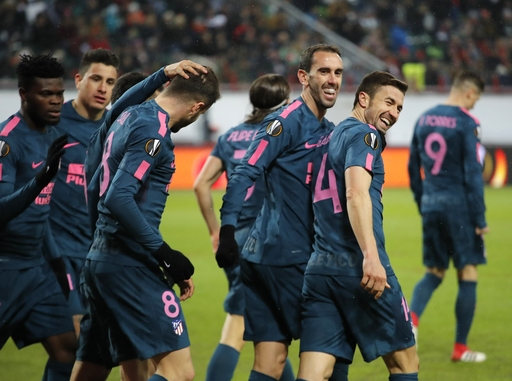 Torres leads Atletico into Europa League quarterfinals