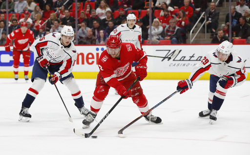 Grubauer lifts Capitals to 1-0 win over Red Wings (Mar 22, 2018)