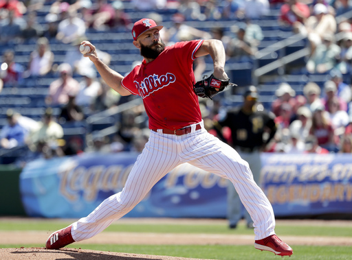 Arrieta assigned to minors while getting in shape for debut