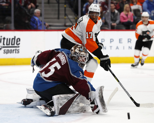 Provorov's goal, assist help Flyers to 2-1 win over Avs
