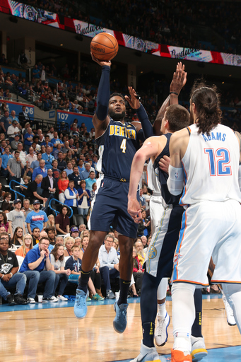 Millsap scores 36 as Nuggets top Thunder 126-125 in OT