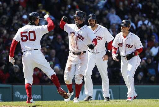Bogaerts' slam, 6 RBIs carries Red Sox past Rays 10-3