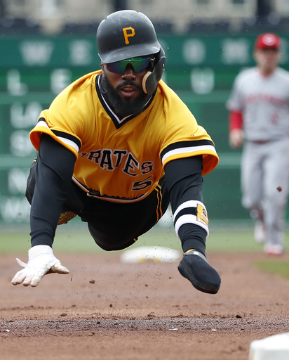 Taillon tosses 1-hitter, Pirates top Reds 5-0