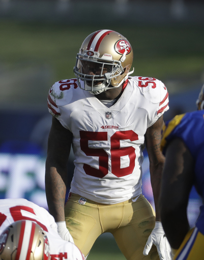 49ers' Reuben Foster charged in assault against girlfriend