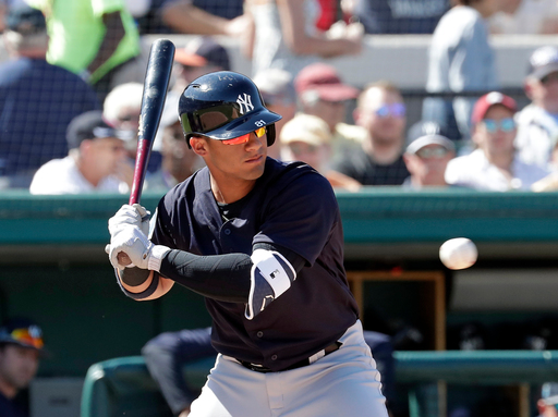 AP source: Gleyber Torres to be called up by Yankees