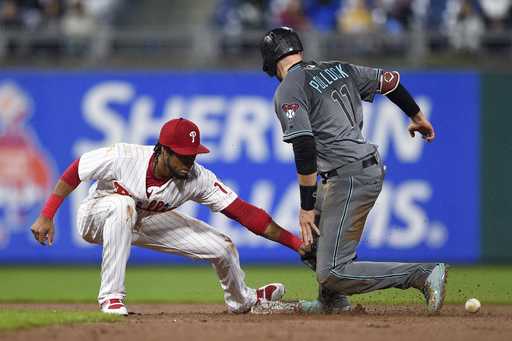 Avila leads Diamondbacks in 8-4 win over Phillies