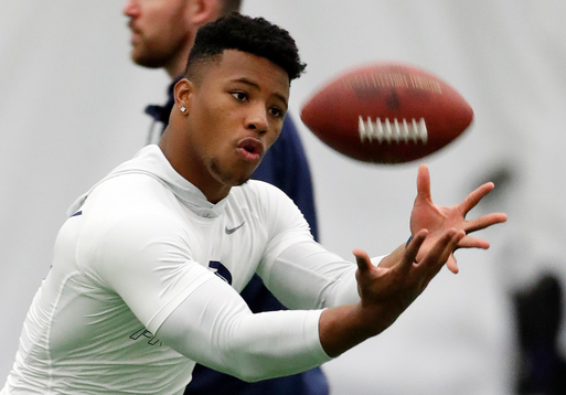 The Latest: New draft touch: Inner Circle for each team