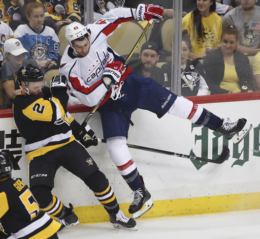 Capitals, Penguins try to keep focus on series, not Wilson