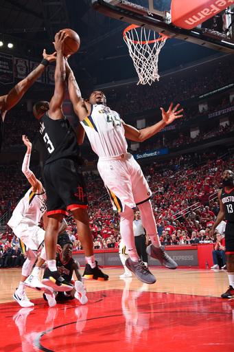 Ingles career night leads Jazz over Rockets 116-108
