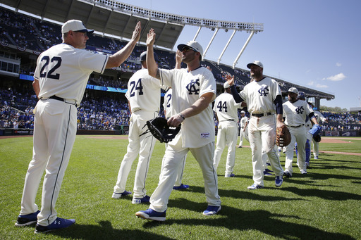 Moustakas helps Royals top Tigers 4-2, win first series