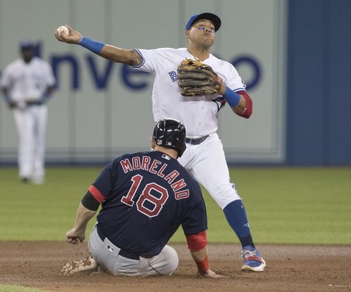 Maile hits game-winning HR in 12th, Jays beat Red Sox 5-3