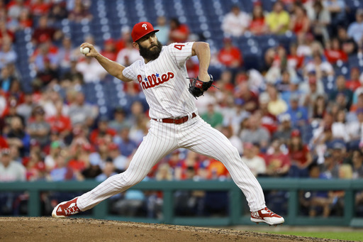 Jake Arrieta aces up, Phillies beat Braves 4-0
