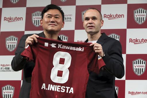 Poorly kept secret: Iniesta joins Japanese club Vissel Kobe