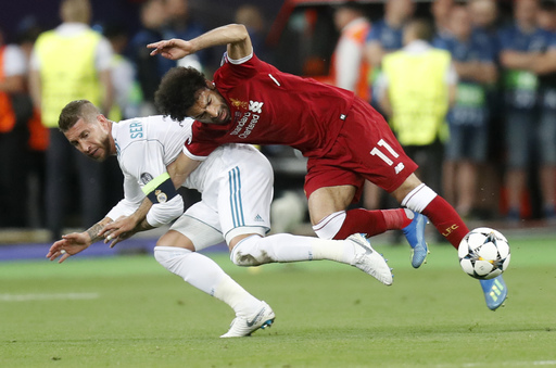 UEFA: No action against Ramos for clash with Karius
