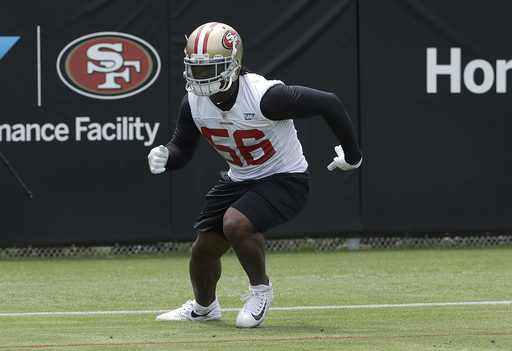49ers ease Reuben Foster back into action after legal case