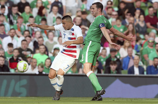 Judge's 90th-minute goal lifts Ireland over US 2-1