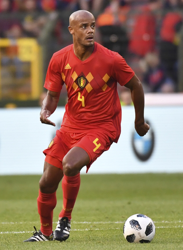 Kompany in Belgium's World Cup squad despite injury