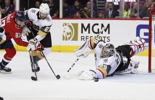 Theodore's struggles have Golden Knights in Cup Final hole